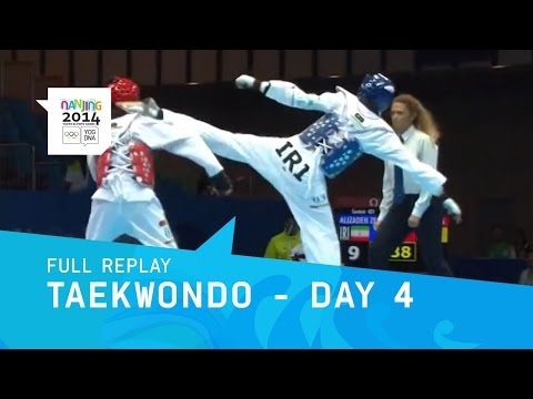 Taekwondo - Knockout Rounds | Full Replay | Nanjing 2014 Youth Olympic Games