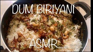 Making Biriyani with Real Sound How to make Biriyani  Biriyani ASMR
