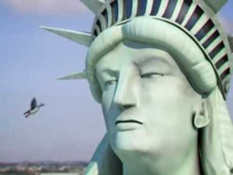 Lady Liberty voiceover... with a New York twist
