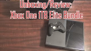 hd unboxing review xbox one 1tb hybrid drive elite bundle