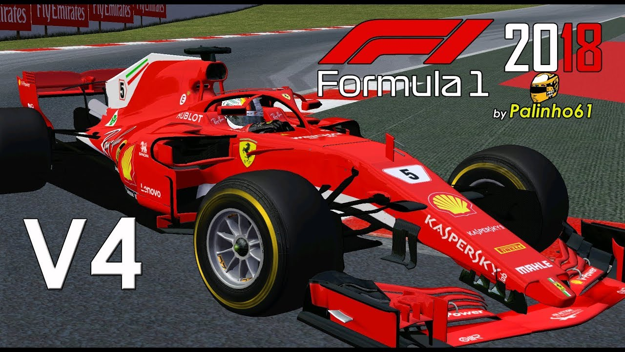 F1 2018 MOD by Palinho61 V4 /RELEASED/
