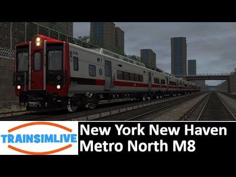 Let's Play Train Simulator 2016 - New York New Haven, Metro North M8