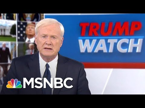 Chris Matthews: President Donald Trump Is Not Above The Law | Hardball | MSNBC