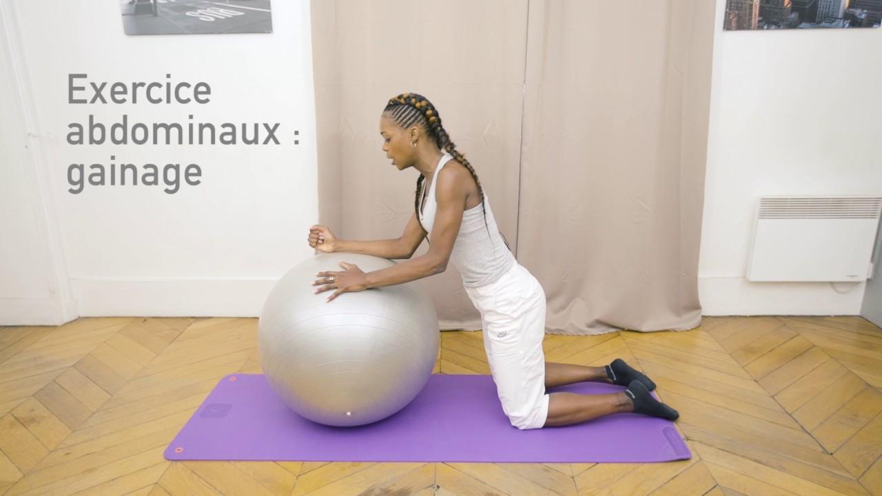 ballon fitness : le swiss ball - youtube