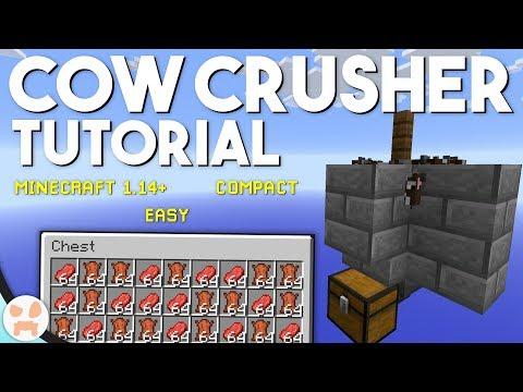 EASY COW FARM TUTORIAL! | Minecraft 1.15+, Compact