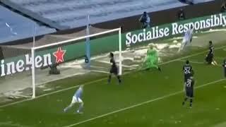 Riyadh Mahrez First Goal Vs PSG Highlights 1-0