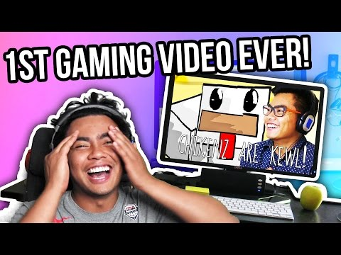 REACTING TO MY FIRST GAMING VIDEO!