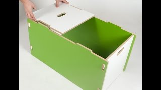 Sprout Modern Toybox Assembly