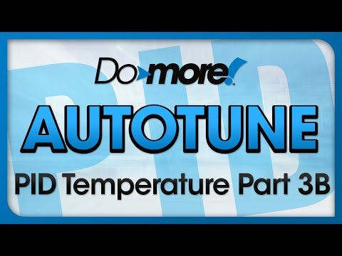 PID Auto Tune For A Do-more PLC - Close Loop PID Hands-on Live Demo - Part B