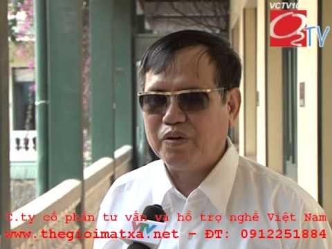Máy xông hơi tài trợ Hội người mù Việt Nam