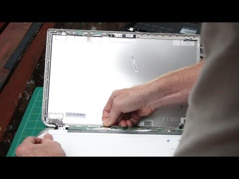 Replacing The Screen Cable On A Laptop