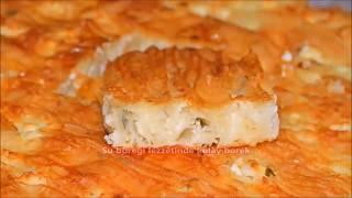 El açması tadında dışı çıtır içi yumuşacık pratik börek tarifi