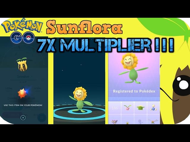 pokémon go sun stone dilemma sunflora or bellossom games