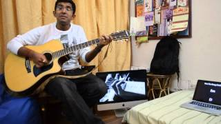 Pani da rang on guitar..!Latest bollywood song on guitar(movie-vicky donor)(singer-Ayushman)
