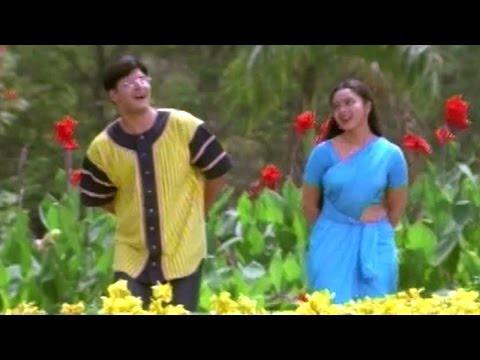 Raja Telugu Movie Songs - Mallela Vaana - Soundarya, Abbas