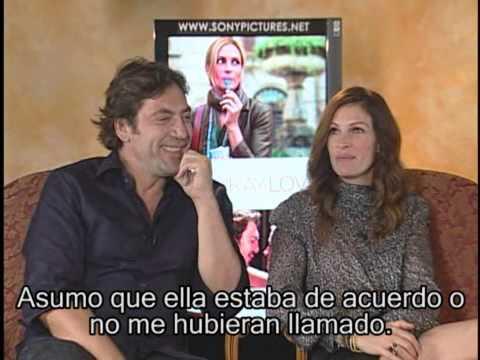 Entrevista a Julia Roberts y Javier Bardem