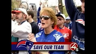 WBZ Archives: Rally To Keep Patriots In Foxboro