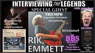 Rik Emmett (Triumph) Legendary Frontman & Guitarist