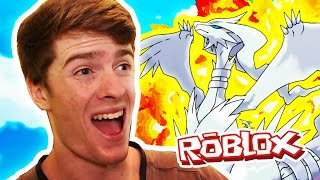 RESHIRAM & DARKRAI! / Pokemon Legends / Roblox Adventures