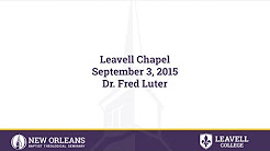 Isaiah 26:3-4 | Dr. Fred Luter | 09-03-2015