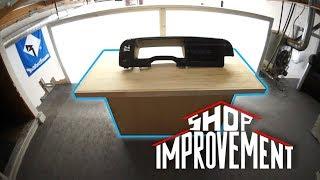 RAFA'S DASH MOD BENCH - Shop Improvement #9 **MUST SEE!**