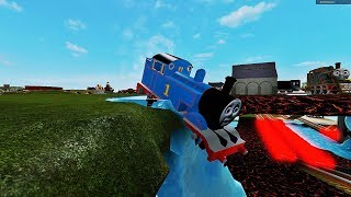 Thomas and Friends Railway Slide Ride Roller Coaster Thomas the Train Roblox