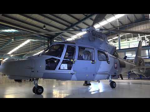 La Armada de México, recibe su décimo helicoptero Phanter