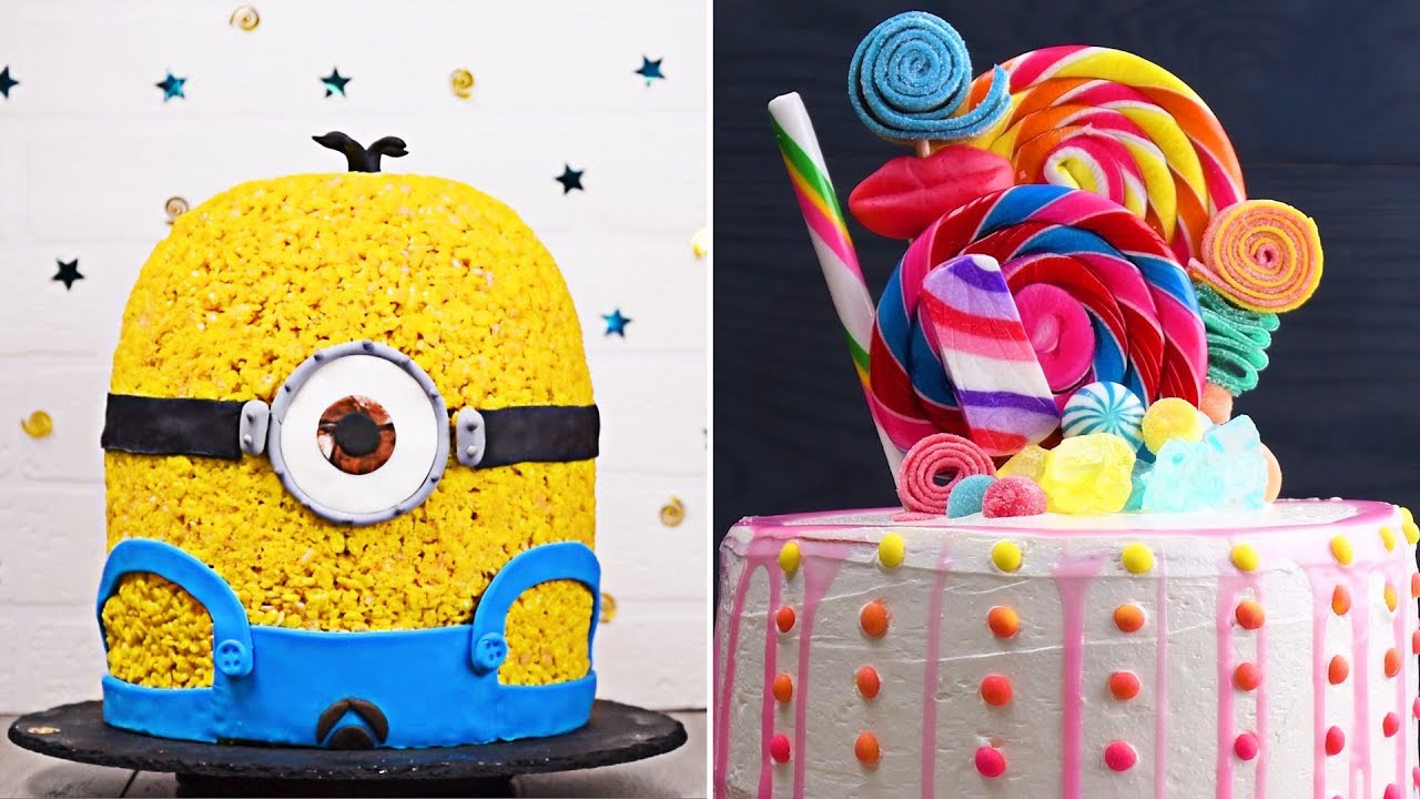 Top 10 Cake Recipe Ideas Easy Diy Cakes Cupcakes And More By So Yummy