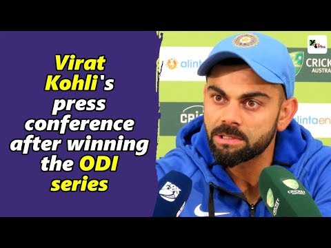 Watch: Virat Kohli's full press conference after winning the ODI series | Australia vs India