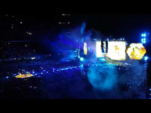 "Coldplay live @ San Siro - Milan. ""Miracles (Someone Special)"" played for the first time."