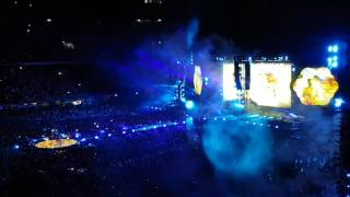 """Coldplay live @ San Siro - Milan. """"Miracles (Someone Special)"""" played for the first time."""