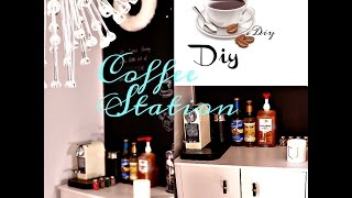 At Home coffee ☕️ Station DIY