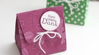 Anleitung: Gastgeschenk / Wedding Favor .. Mini-Geschenktüte | Stampin