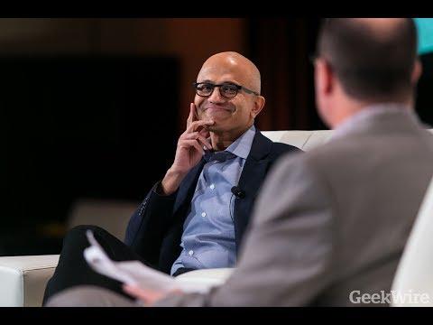 GeekWire Summit: Satya Nadella, CEO, Microsoft