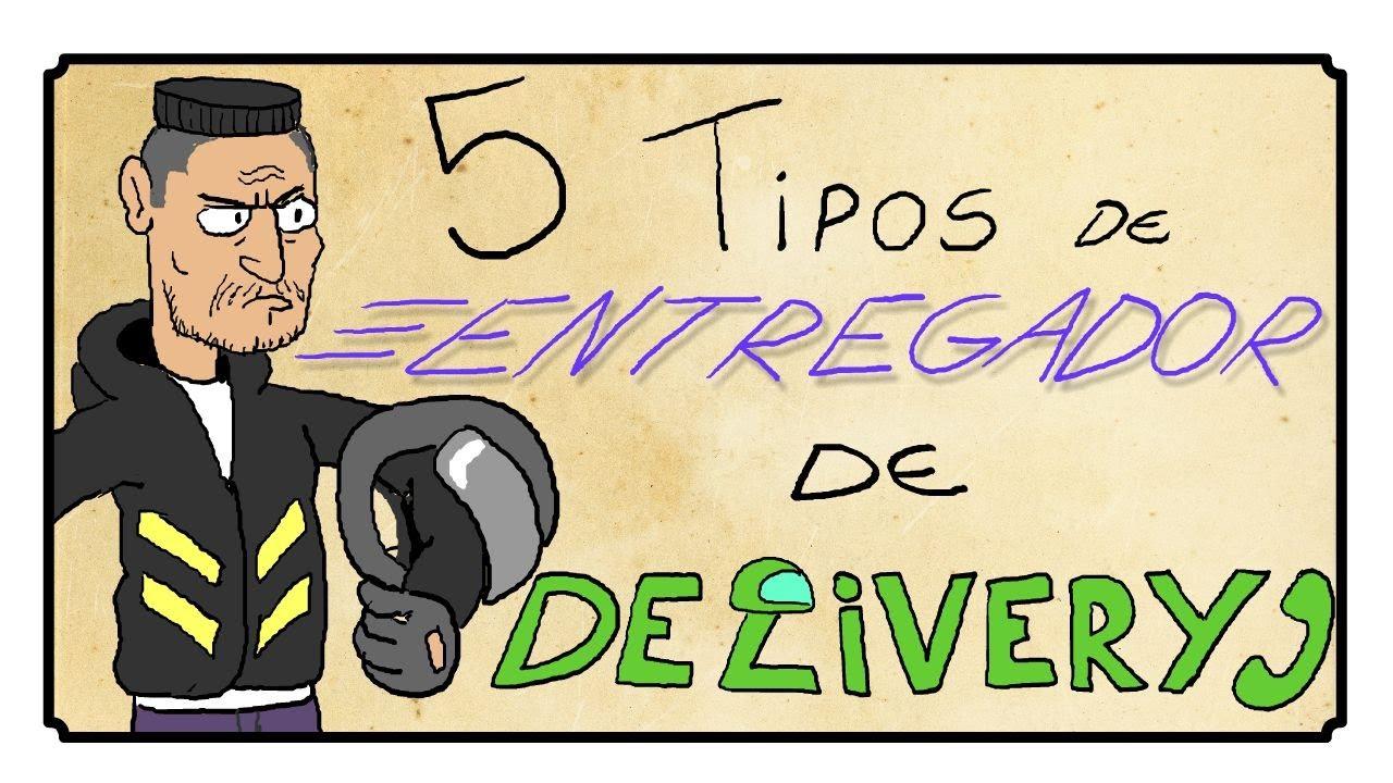 5 TIPOS DE ENTREGADOR DE DELIVERY
