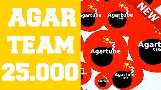 Agar.io Party Mode Teamplay★ 25.000 ★ Score NEW BOMB SKIN