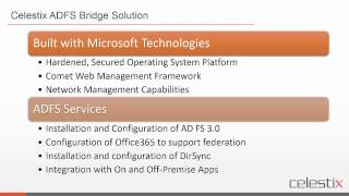 Simplifying Office 365 deployment with AD FS for a seamless single sign-on experience