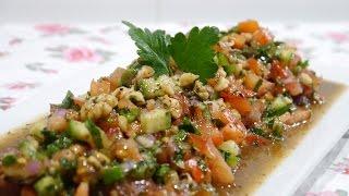 Gavurdağı Salatası Tarifi | Gavurdağı Salatası Nasıl Yapılır