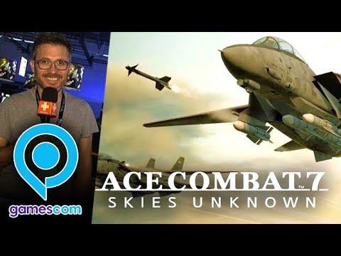 Gamescom : On a joué à Ace Combat 7, nos impressions façon Top Gun