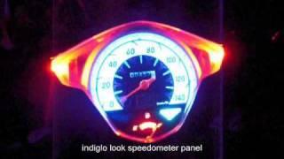 Repeat youtube video honda beat LED lights conversion