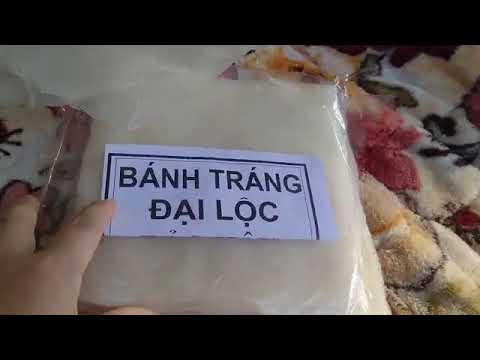 Cận cảnh bánh tráng Đại Lộc đặc sản của Quảng Nam được nhiều người yêu thích
