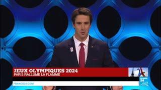 Jeux Olympiques Paris 2024 - Discours de Tony Estanguet, coprésident du comité de candidature