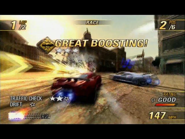 Burnout Revenge PS2 gameplay (played on PS3 60gb) - HD 1080p
