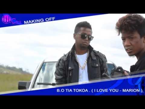 """Making of Marion """"I LOVE YOU"""" B.O """"Tia Tokoa"""""""