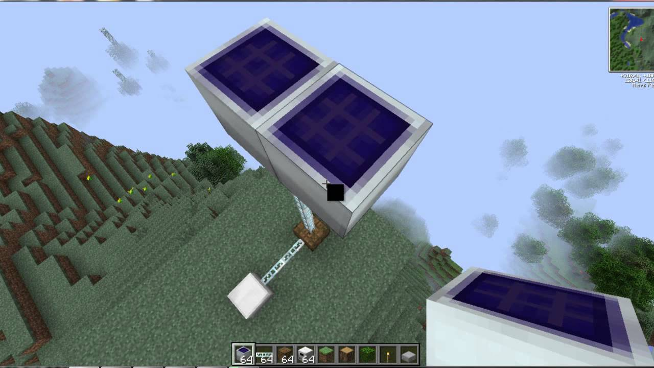 Tekkit How To Use Solar Panels Lv Youtube