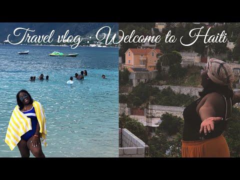 TRAVEL VLOG • IM IN HAITI !!!