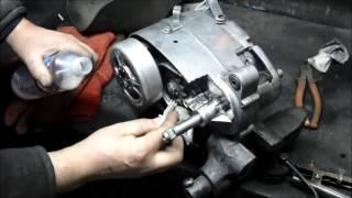 Сварка алюминия электродом по алюминию  Попытка номер два(Второй мотор, который отремонтирован без аргона. Сложно, непонятно, но результат есть. Будем дальше изучать..., 2015-12-27T17:26:17.000Z)