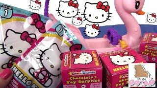 Киндер Сюрприз Игрушки от Хелоу Китти. Kinder Surprise Hello Kitty. Распаковка Сюрпризов