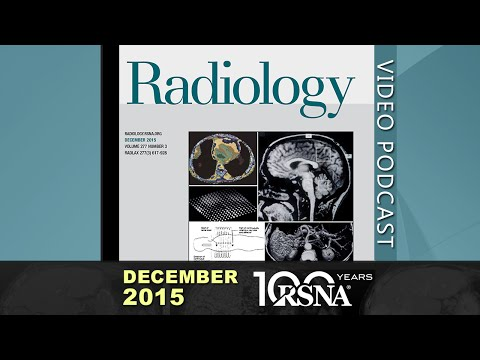 December 2015 Radiology Podcast (3 discussions)