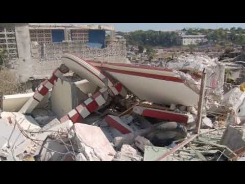 Breaking 5.9 magnitude hit Haiti Caribbean nation